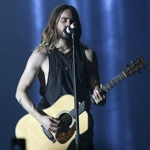 Jared Leto en el concierto de 30 Seconds to Mars en Australia