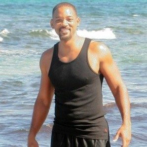 Will Smith en las playas de Ibiza