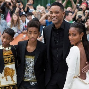 Will Smith y familia