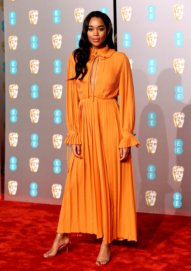 bafta-2019:-laura-harrier