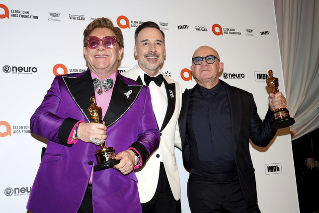 elton-john,-david-furnish-y-bernie-taupin