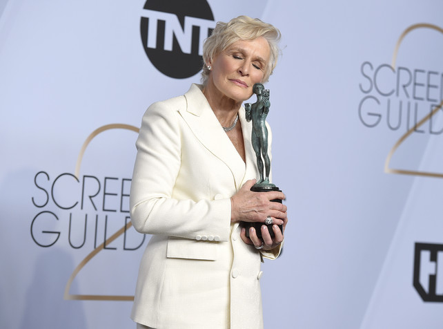 glenn-close-en-los-sag-awards-2019