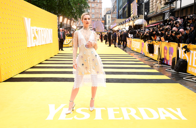 lily-james-estrenando--039;yesterday-039;