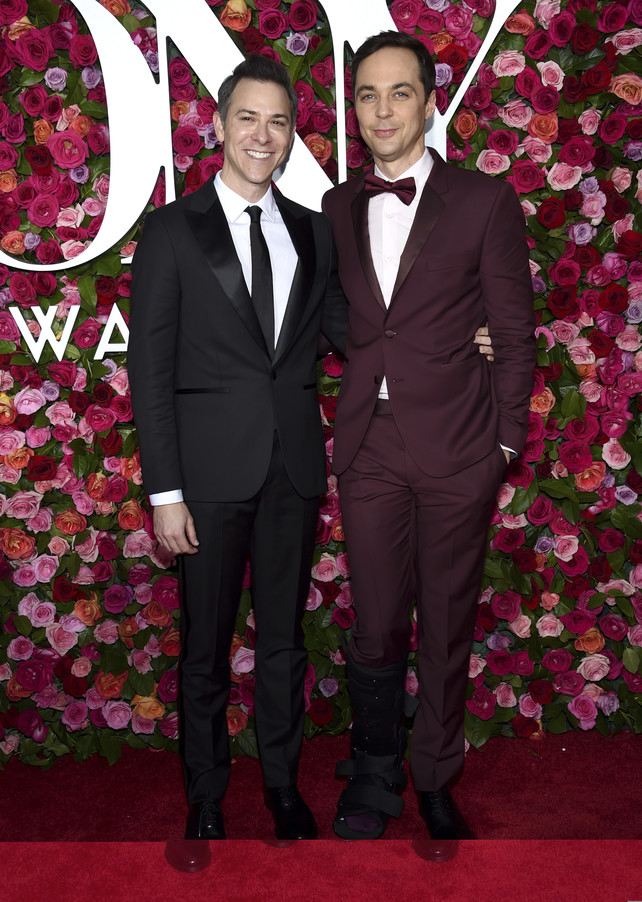 tony-awards-2018:-jim-parsons-y-todd-spiewak